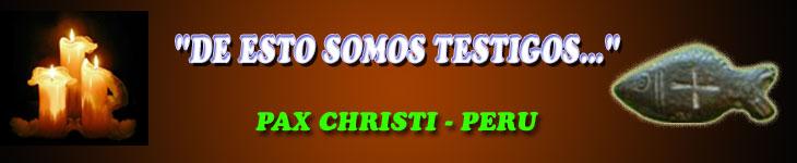 Pax Christi - Perú