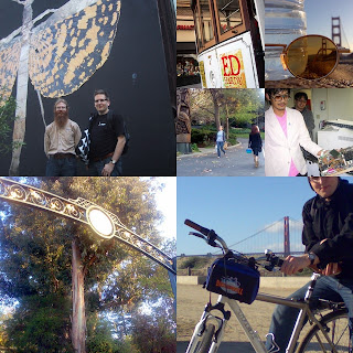 scenes from CCA Oakland and San Francisco: Rowan Littell, Riku Itäpuro, Mik Gaspay, Patrick Lee