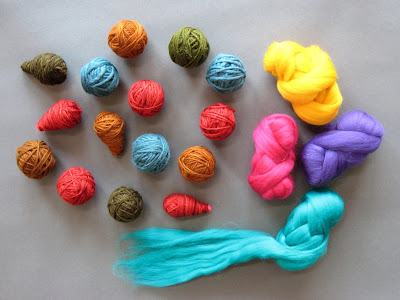painted threads projects making felted balls. Black Bedroom Furniture Sets. Home Design Ideas