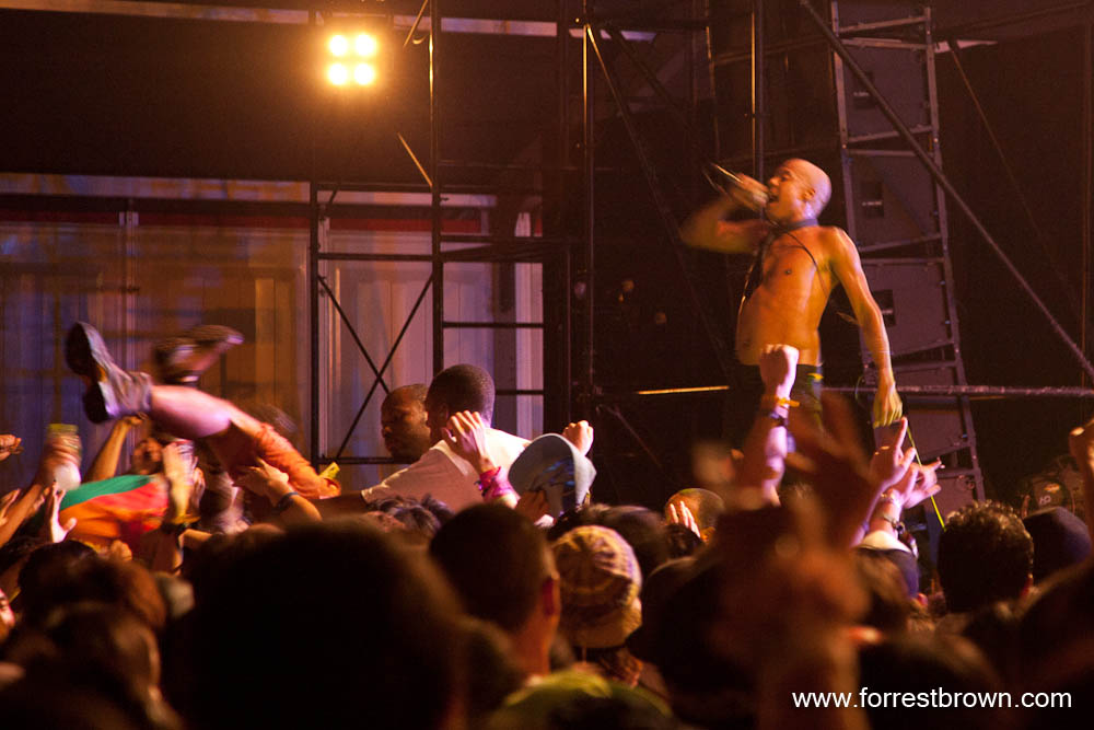 Fishbone at Fuji Rock 2010