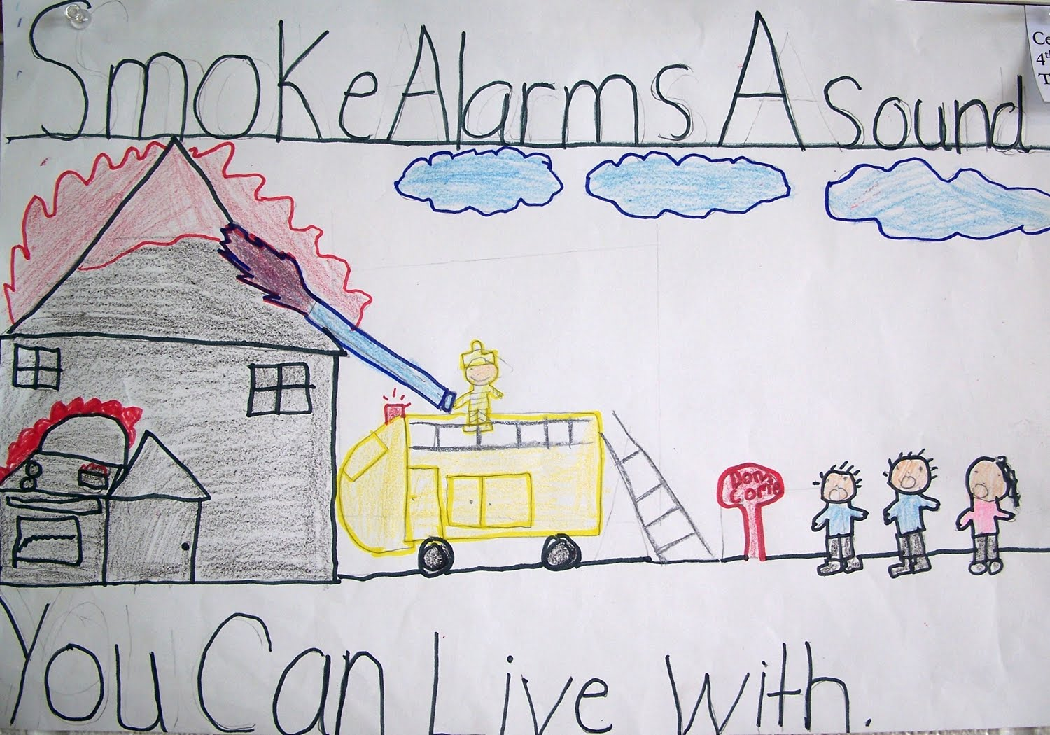 art with mrs. parks: 4th grade classroom fire safety poster winners