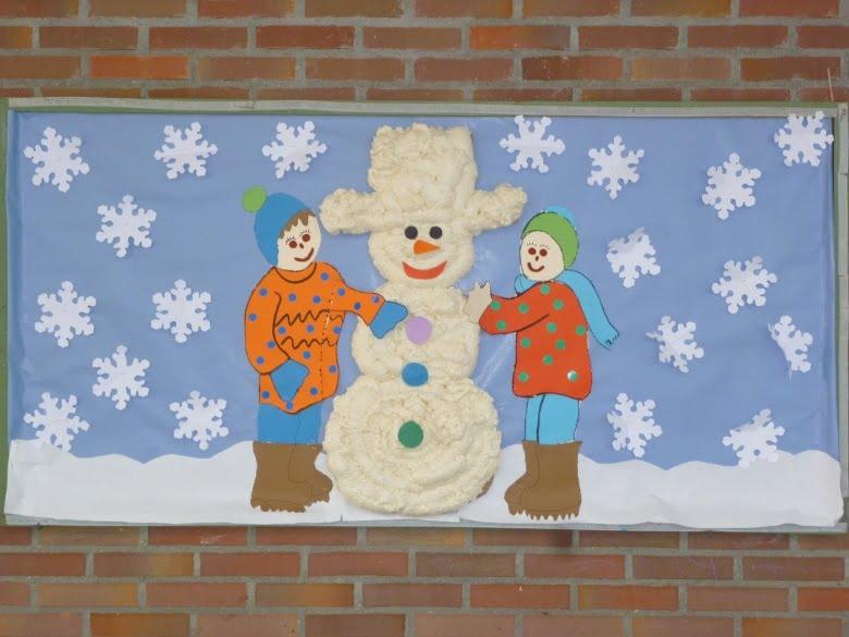 El pa s de los enanos murales de invierno for Murales para ninos