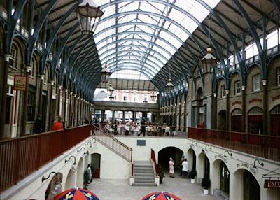 Рынок в квартале Ковент-Гарден
