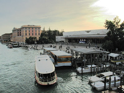 Венеция. Вокзал Санта-Лючия