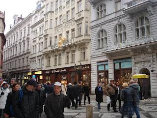 Предновогодняя суета в Праге