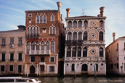 Палаццо Дарио. Фото с сайта http://www.rosswarner.com/2219.html