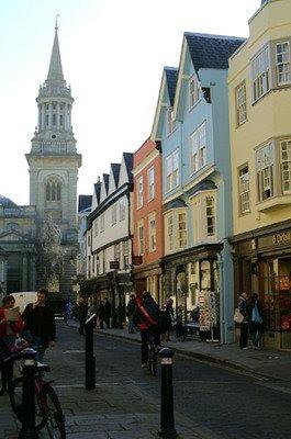 Оксфорд. Улица Терл
