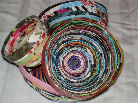 Restyle reuse redesign all about paper for Diy paper bowl