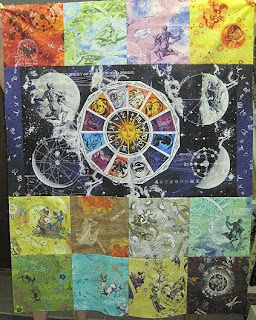 The cotton club quilt blog attention astrology lovers for Astrology fabric