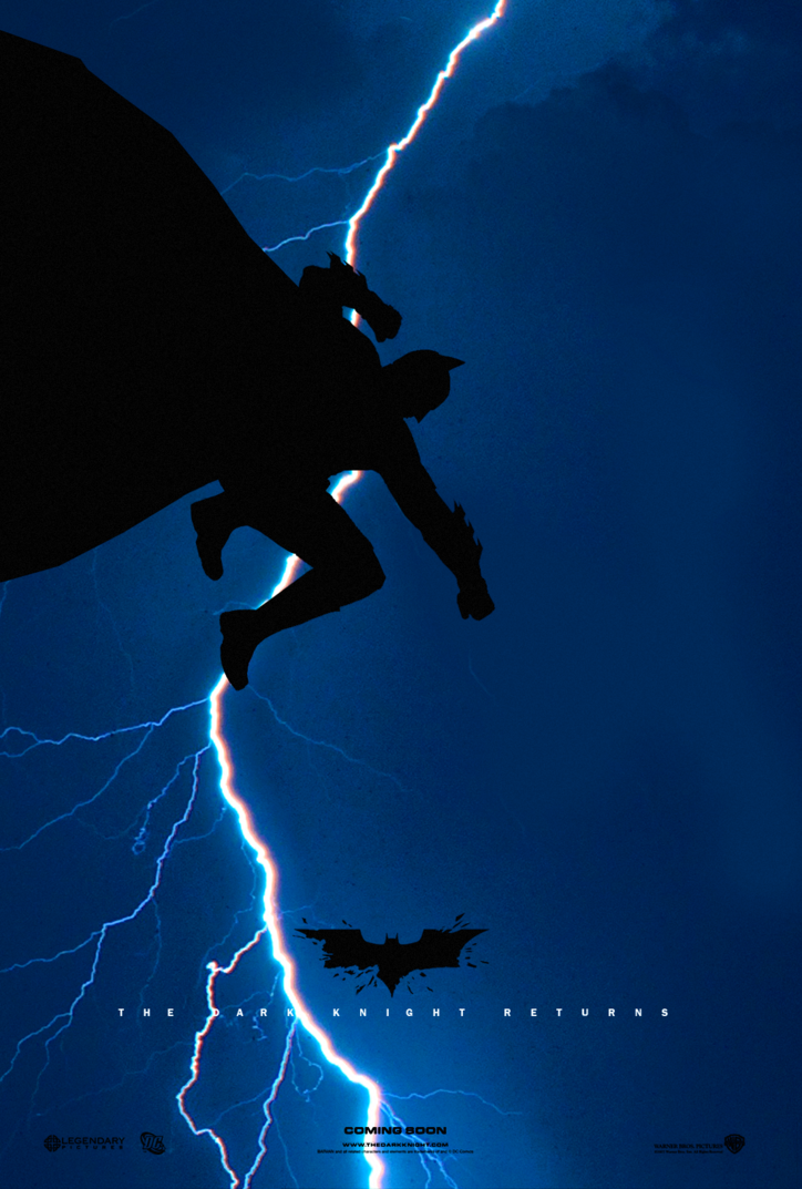 dark knight returns poster pictures on tcs