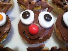 Raindeer Cup Cakes