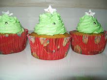 Christmas Fruit Mince Cup Cakes