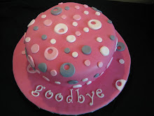 Goodbye Circle Cake