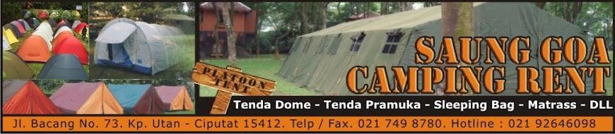 Saung GOA Camping Rent