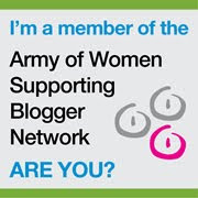 Join the Army of Women's Supporting Blogger Network!