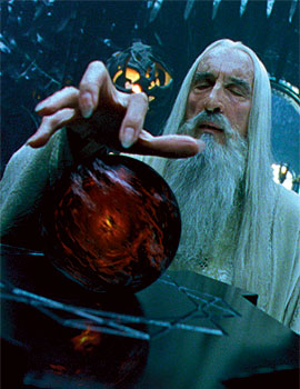 Christopher Lee (Saruman)