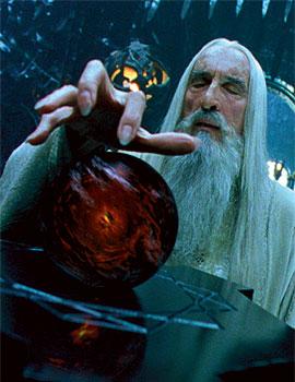 Christopher Lee (Saruman)