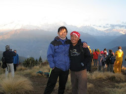 Liu & Me in Poon Hill