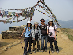 The moment of Joy-at Dewrali View top-Ghorepani PoonHill-From HK