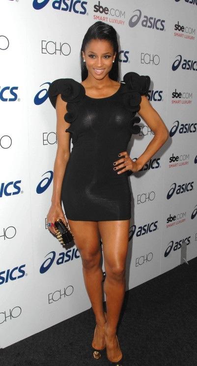 Lovebrownsugar Ciara In All Black Everything