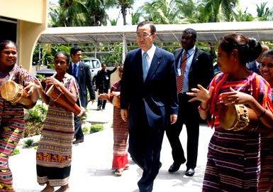 ONU – Relatório sobre caos em Timor existe