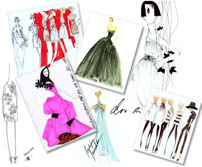 Fashion Week  Orleans on Fashion Illustration By Fashion Designers