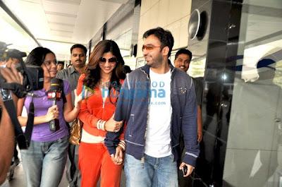 Shilpa and Raj Kundra