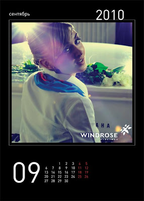 Windrose Airlines 2010 Hot Calender