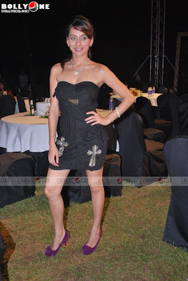 Celebrities at Triumph Lingerie show
