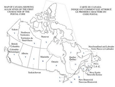 From Stillwater: Canadian Postal Code Trivia on