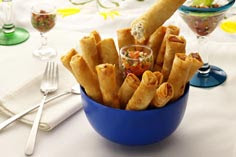 Creamy Chicken Lumpia