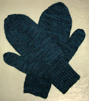 Mens Mittens Knitting Pattern : Knit with KT: Basic Mens Mittens