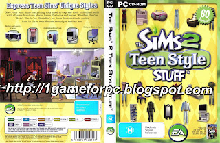 The Sims 2   Teen Style Stuff Athena Lundberg   Image courtesy of rookiebabe.com