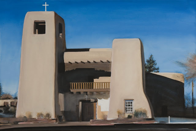 New Mexico Churches-Recent Paintings