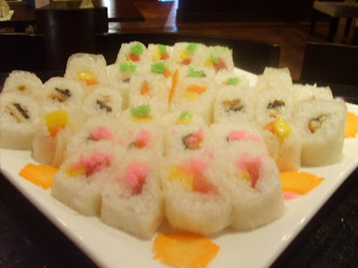 maki with rice paper