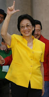 corazon aquino is dead