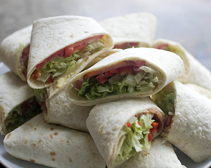 Veggie Wraps - Sage & Simple