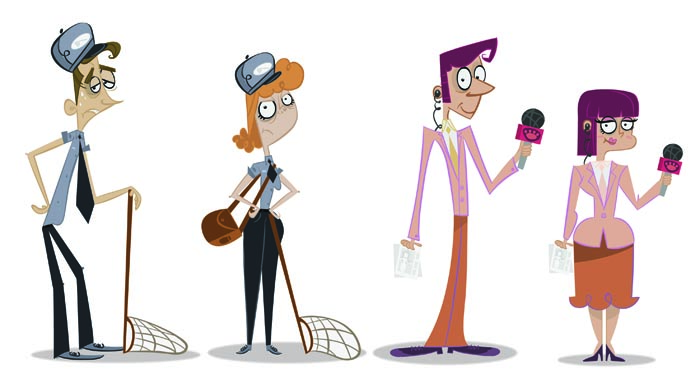 Character Design Jobs Uk : Smirk by kyla may animation character design