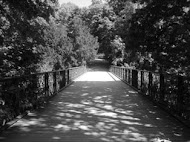 A bridge provides passage over an obstacle.