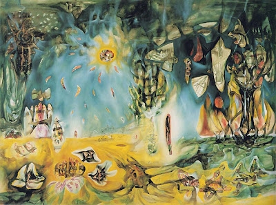 The earth is a man, Roberto Matta