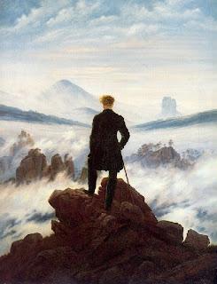 Friedrich,Caminante sobre el mar de niebla