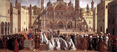 Predicación de san Marcos en Alejandría, Bellini