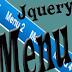 Tạo menu sổ xuống với hiệu ứng trượt ngang bằng Jquery