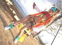 Rikku Sexy Cosplay