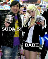 Suda 51 and his babe