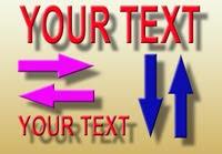 text berjalan