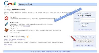 Membuat email gratis