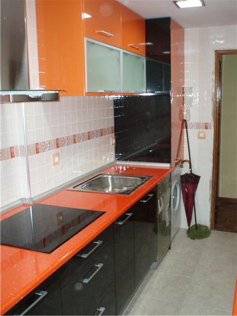 Cocinas fotos de cocinas - Encimeras de formica imitacion silestone ...