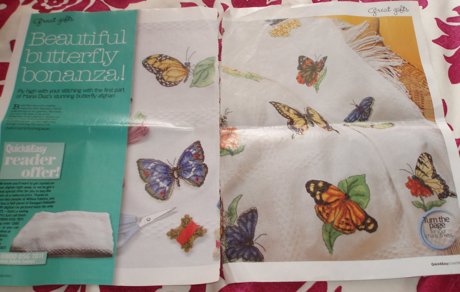 MyissaG's Crochet: Butterfly Afghan Done, Bumble Bear and other