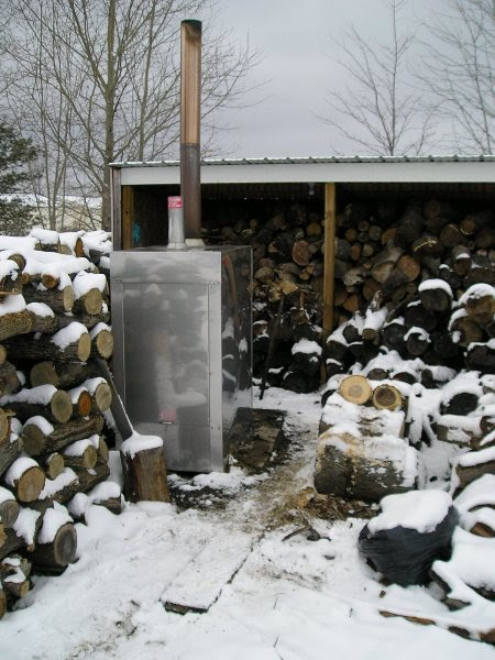 Ohio Woodburner Owb My Hardy H2 And Woodshed